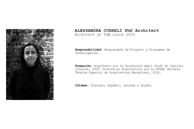 TdB Arquitectura Alessandra Curreli