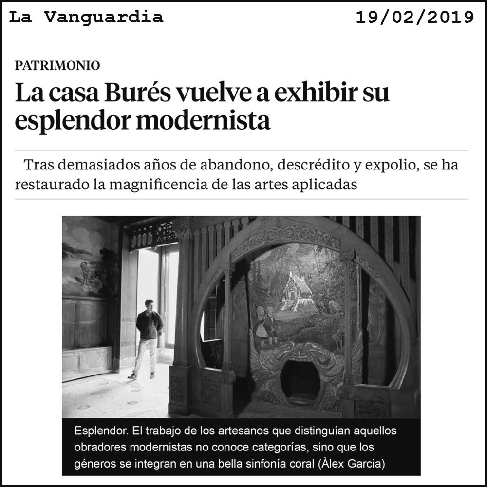 Casa Burés TdB Arquitectura La Vanguardia