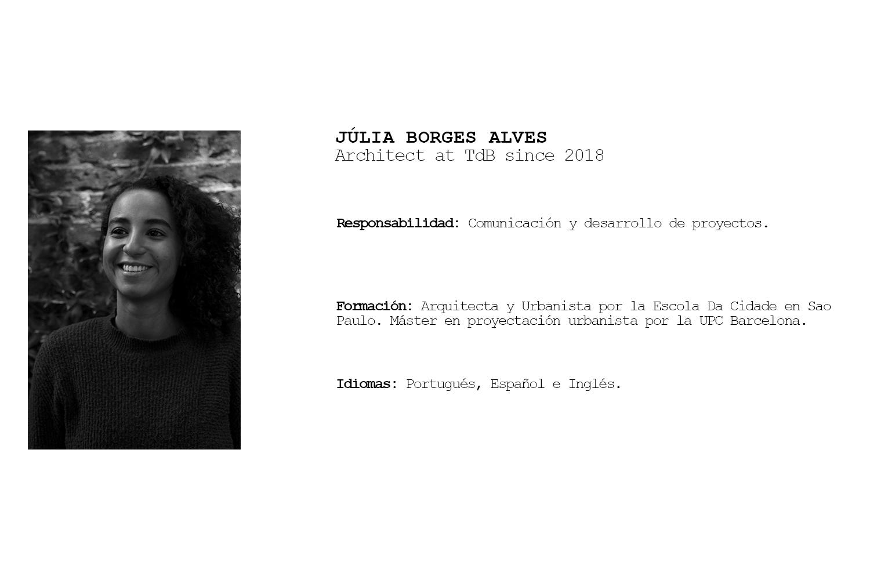 TdB Arquitectura Júlia Borges Alves