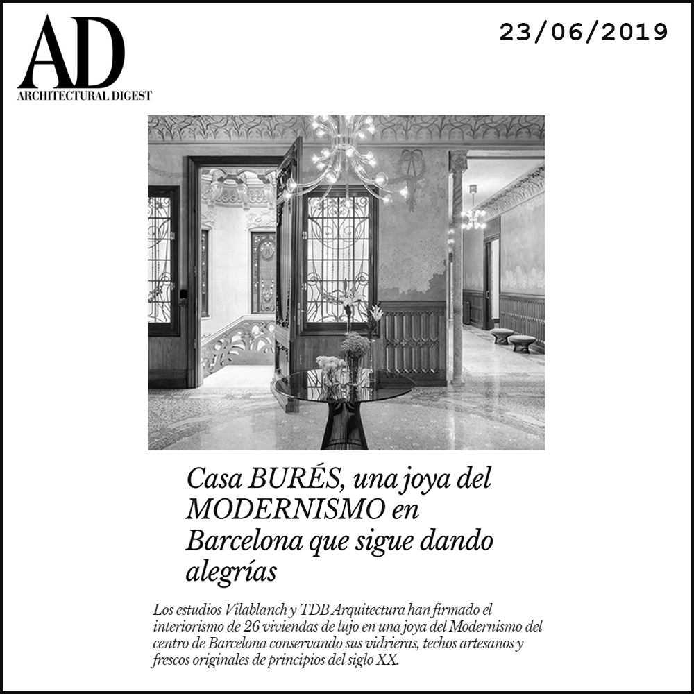 Casa Burés TdB Arquitectura AD Architectural Digest