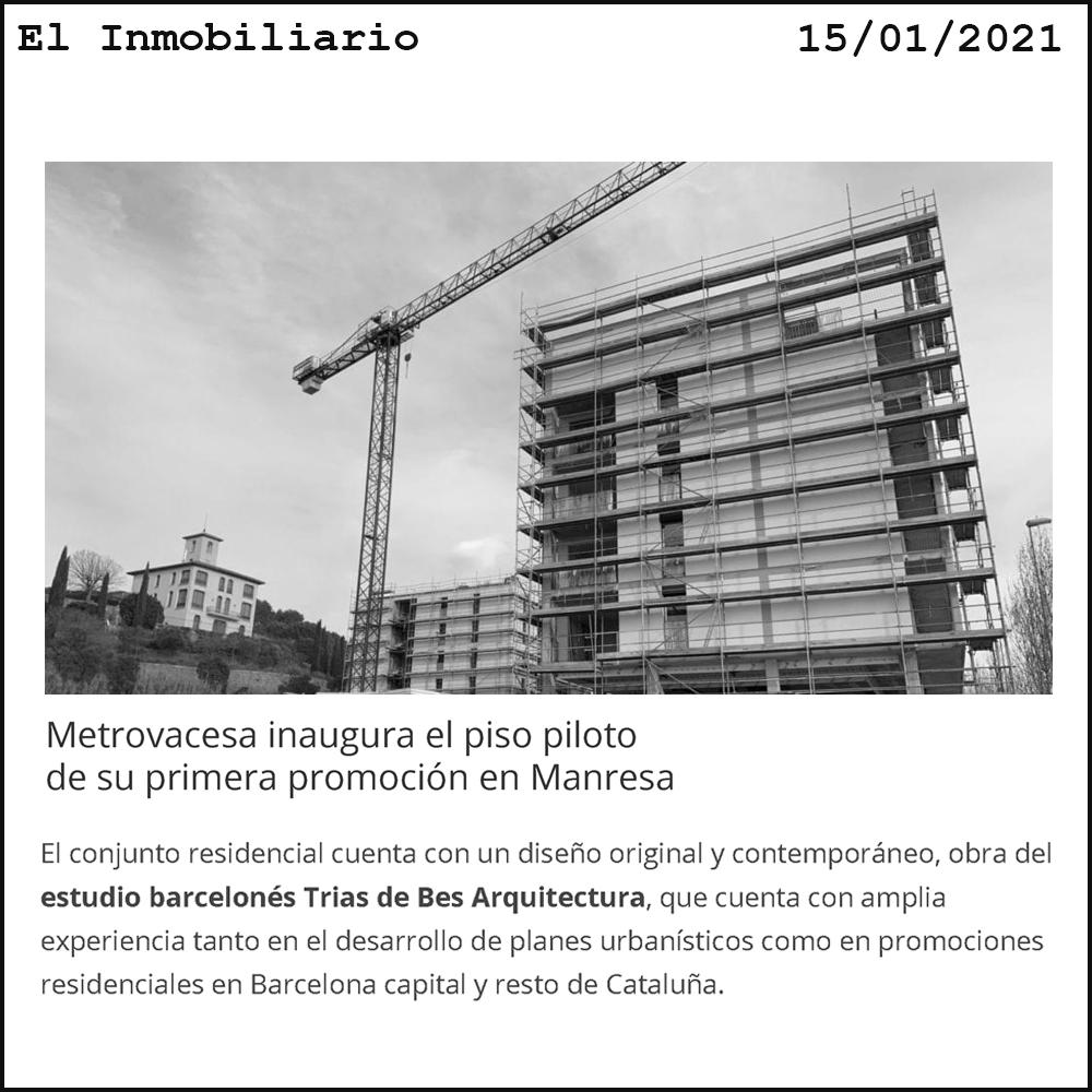 TdB Arquitectura Manresa TdB Arquitectura Metrovacesa
