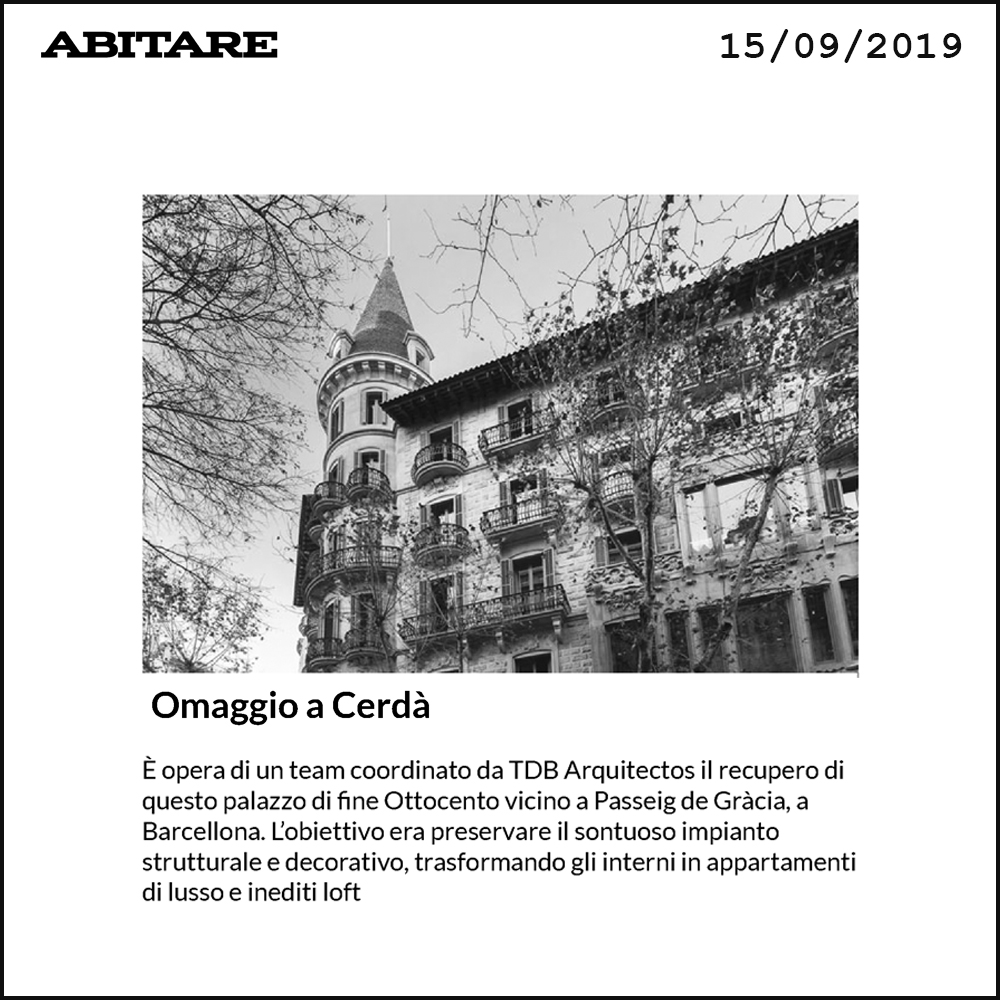 Casa Burés TdB Arquitectura Abitare