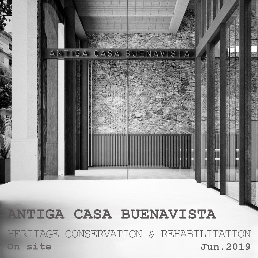 TdB Arquitectura Hotel Antiga Casa Buenavista